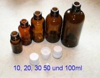 100ml Braunglasflasche mit Tropfer