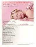 Wellnessbehandlung mit Beratung und Aromamassage