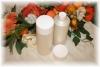 200ml Lotion-/Shampoo-Flasche, perlmuttfarben mit Zierkappe