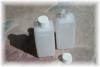 250 ml HDPE-Leerflasche, naturfarben (Verschluß)